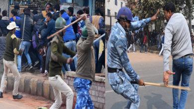 Photo of پٹنہ میں بجلی محکمہ کے ملازمین کا مظاہرہ: پولیس کا لاٹھی چارج، 12 سے زائد زخمی