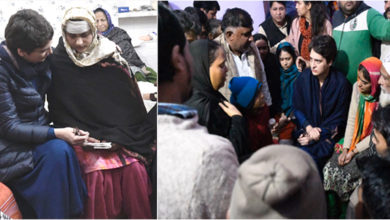 Photo of سی اے اے: مہلوکین کے اہل خانہ سے ملنے مظفر نگر پہنچیں پرینکا گاندھی