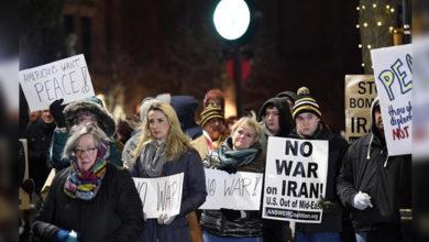 Photo of امریکی عوام کا ایران کے ساتھ جنگ نہ کرنے کا مطالبہ