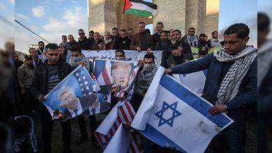 Photo of مشرق وسطیٰ کیلئے ٹرمپ منصوبہ: فلسطینیوں کا احتجاج و مظاہرہ