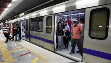 Photo of دہلی: 5 میٹرو اسٹیشنوں کے انٹری-ایکزٹ دروازے بند
