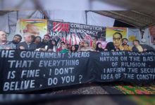 Photo of خوریجی میں خاتون مظاہرین کا دھرنا رات و دن جاری
