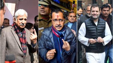 Photo of دہلی اسمبلی انتخابات: اہم شخصیات نے کیا اپنے حق رائے دہی کا استعمال