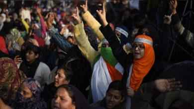 Photo of سی اے اے خلاف کے شاہین باغ میں جمی ہوئی ہیں خواتین