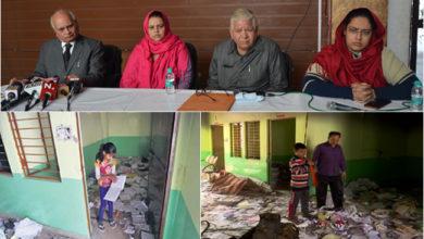 Photo of فسادات میں جلائے گئے اسکول کے بچوں کا مستقبل تاریکی میں