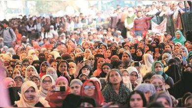 Photo of سی اے اے کے خلاف بے خوف جمی ہوئی ہیں شاہین باغ کی خواتین