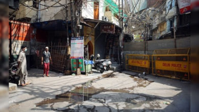 Photo of تین دن کے کرفیو کی افواہ پر چاندنی محل علاقہ میں مچی افراتفری