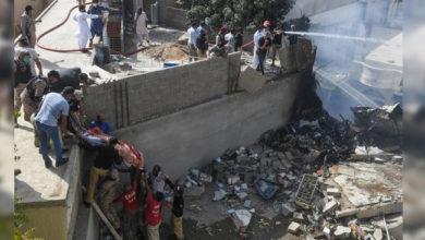 Photo of پاکستان میں 107 لوگوں کو لے جارہا طیارہ حادثے کا شکار