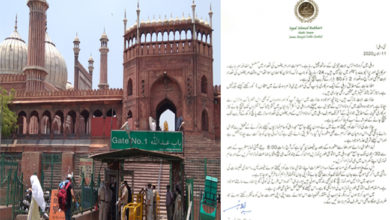 Photo of 30جون تک کیلئے شاہی جامع مسجد پھر ہوئی بند