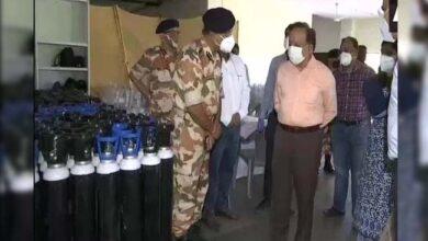 Photo of وزیر صحت ڈاکٹر ہرش وردھن نے کیا رادھا سوامی ویاس کوویڈ کیئر سنٹر کا دورہ