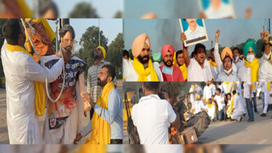 Photo of زرعی قانون کے خلاف راجدھانی کی سڑکوں پر کانگریس اور کسان