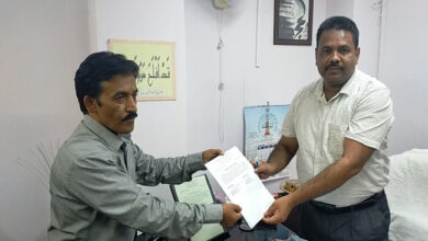 Photo of دہلی اسٹیٹ حج کمیٹی کے نئے ای او جاوید عالم خان نے سنبھالا چارج
