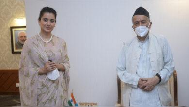 Photo of 'کنگنا راناوت کو گورنر محترم ڈانٹ دیئے ہوتے تو خوشی ہوتی'