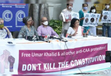 Photo of دہلی فسادات معاملہ: گرفتار نوجوانوں وطلبا کی رہائی کا مطالبہ
