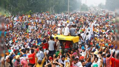 Photo of کسانوں کا بھارت بند: ریل ٹریک جام، یوپی میں خاصا اثر، کئی علاقوں میں مظاہرے