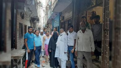 Photo of سیلم پور: کونسلر حجن شکیلا افضال نے خستہ گلیوں اور سڑکوں کی تعمیراتی کاموں کا کیا افتتاح