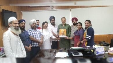 Photo of شہید بھگت سنگھ ویلفیئر سوسائٹی نے کیا دہلی اقلیتی کمیشن کے چیئرمین کا استقبال