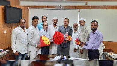 Photo of ذاکر خان کو دہلی اقلیتی کمیشن کا چیئرمین بنائے جانے پر مبارک باد کا سلسلہ جاری
