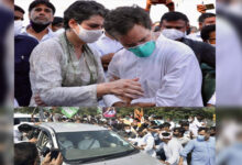 Photo of ہاتھرس معاملہ: کانگریس کارکنان پر لاٹھی چارج، راہل گاندھی حراست میں