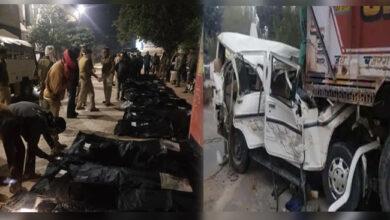 Photo of اترپردیش: باراتیوں سے بھری گاڑی حادثہ کا شکار، 14 ہلاک
