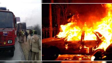 Photo of آگرہ میں دلدوز حادثہ، کار سوار 5 افراد زندہ جل گئے