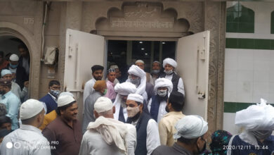 Photo of دہلی فساد کی شکار عزیزیہ مسجد دوبارہ آباد