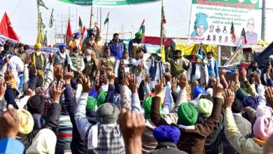 Photo of کسان تحریک: 'بھوک ہڑتال' دوسرے دن بھی جاری، یوپی-دہلی، چلا بارڈر بند