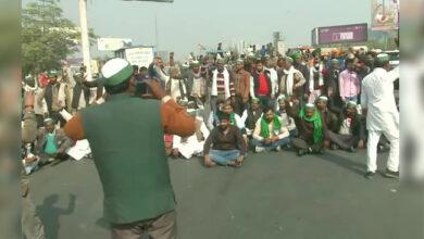 Photo of کسانوں کی تحریک تیز، دہلی-موہن نگر شاہراہ بلاک