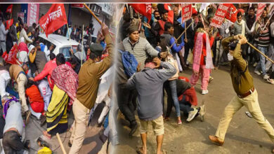 Photo of کسان تحریک: گورنر ہاؤس مارچ کر رہے کسانوں پر لاٹھی چارج، کئی زخمی