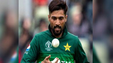Photo of تیز گیندباز محمد عامر انٹرنیشنل کرکٹ سے 'ریٹائر'