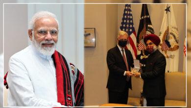 Photo of ڈونالڈ ٹرمپ نے پی ایم مودی کو اعلی فوجی اعزاز سے نوازا