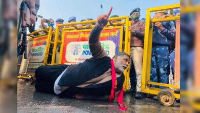 """Photo of کسان تحریک: """"کسان نیائے مارچ"""" نکال رہے کارکنان پر لاٹھی چارج، کئی زخمی"""