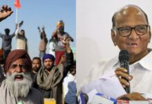 Photo of شرد پوار نے ممبئی کے آزاد میدان میں کہا- گورنر کے پاس کسانوں سے نہیں کنگنا سے ملنے کا وقت ہے