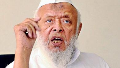 Photo of مسلمان پیٹ پر پتھرباندھ کر اپنے بچوں کو اعلیٰ تعلیم دلوائیں، تعلیمی وظائف کا اعلان کرتے ہوئے مولانا سید ارشد مدنی کی اپیل