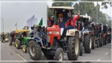 Photo of کسان تحریک: قومی راجدھانی خطہ میں 'ٹریکٹر مارچ'، حفاظت کے سخت انتظامات