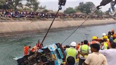 Photo of مدھیہ پردیش میں بڑا حادثہ: 54 مسافروں کی بس گر گئی ، 30 افراد کی لاشیں برآمد