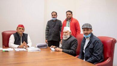 Photo of سماجوادی پارٹی کسانوں کے ساتھ :ڈاکٹربرق