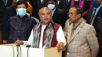 Photo of وزیر زراعت نے راجیہ سبھا میں کہا – صرف پنجاب کے کسانوں کو قوانین کے بارے میں غلط فہمی ہے