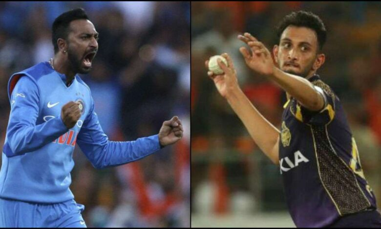 Prasad Krishna and Krunal Pandya could be selected in the ODI team against England